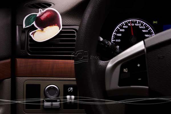 استودیو ژو - عکاسی محصول خوشبو کننده اتومبیل آروما - عکاسی تبلیغاتی و صنعتی