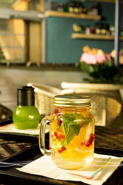 استودیو ژو - عکاسی مواد غذایی کافه باغ - عکاسی صنعتی
