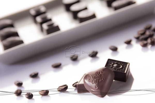 استودیو ژو - عکاسی مواد غذایی شکلات قافلانکوه - عکاسی تبلیغاتی و صنعتی
