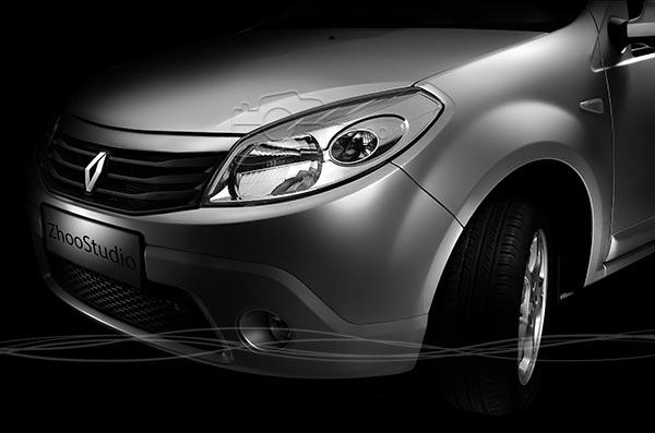 استودیو عکاسی صنعتی ژو - عکاسی خودرو ساندرو