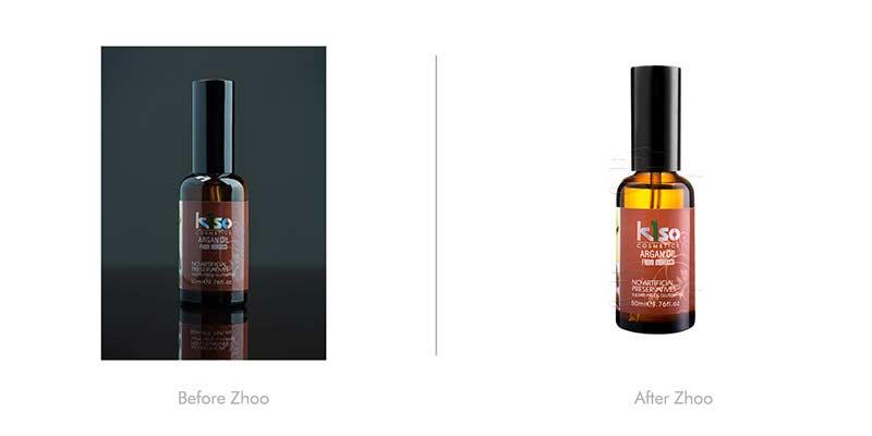 مقایسه عکاسی صنعتی محصول